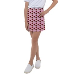 Rose In Pink Kids  Tennis Skirt