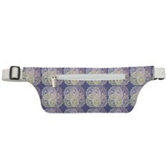 Doily Only Pattern Blue Active Waist Bag