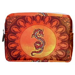Wonderful Chinese Dragon Make Up Pouch (medium) by FantasyWorld7