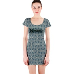 Pattern1 Short Sleeve Bodycon Dress by Sobalvarro