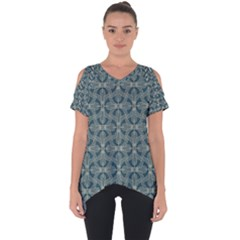 Pattern1 Cut Out Side Drop Tee by Sobalvarro