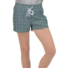 Pattern1 Velour Lounge Shorts by Sobalvarro