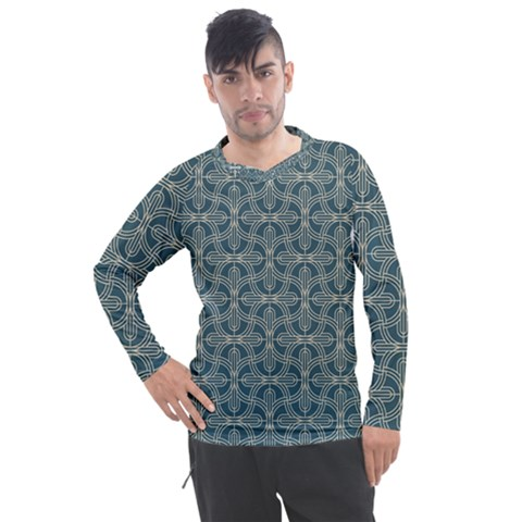Pattern1 Men s Pique Long Sleeve Tee by Sobalvarro