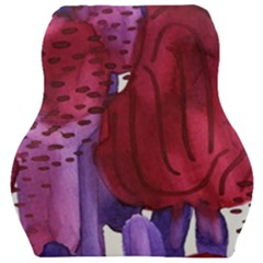 Pattern 17 Car Seat Velour Cushion  by Sobalvarro