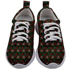 Dark Floral Butterfly Teal Bats Lip Green Small Kids Athletic Shoes