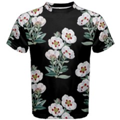 Floral Vintage Wallpaper Pattern 1516863120hfa Men s Cotton Tee
