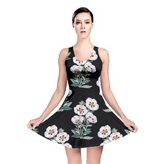 Floral Vintage Wallpaper Pattern 1516863120hfa Reversible Skater Dress