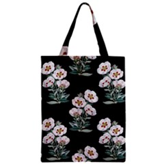 Floral Vintage Wallpaper Pattern 1516863120hfa Zipper Classic Tote Bag