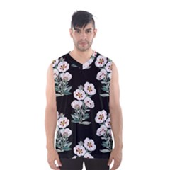 Floral Vintage Wallpaper Pattern 1516863120hfa Men s Basketball Tank Top