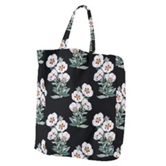 Floral Vintage Wallpaper Pattern 1516863120hfa Giant Grocery Tote