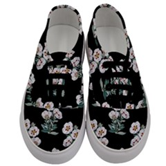 Floral Vintage Wallpaper Pattern 1516863120hfa Men s Classic Low Top Sneakers