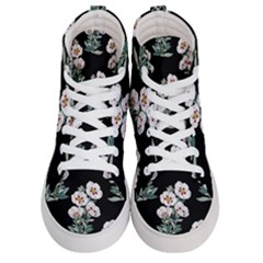 Floral Vintage Wallpaper Pattern 1516863120hfa Men s Hi-top Skate Sneakers