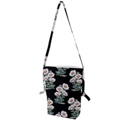 Floral Vintage Wallpaper Pattern 1516863120hfa Folding Shoulder Bag