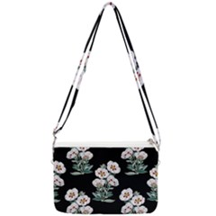 Floral Vintage Wallpaper Pattern 1516863120hfa Double Gusset Crossbody Bag