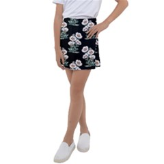 Floral Vintage Wallpaper Pattern 1516863120hfa Kids  Tennis Skirt by Sobalvarro