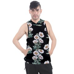 Floral Vintage Wallpaper Pattern 1516863120hfa Men s Sleeveless Hoodie