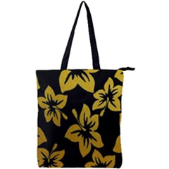 Gigli Gold Double Zip Up Tote Bag