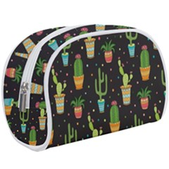 Succulent And Cacti Makeup Case (large)