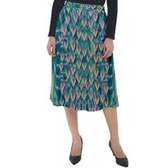 Heavy Metal Hearts And Belive In Sweet Love Classic Velour Midi Skirt  by pepitasart