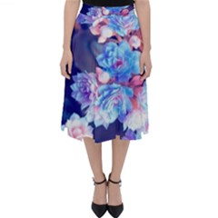 Flowers Classic Midi Skirt by Sparkle