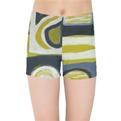 Abstract Landscape  Kids  Sports Shorts by Sobalvarro
