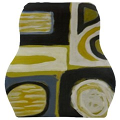 Abstract Landscape  Car Seat Velour Cushion  by Sobalvarro