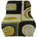 Abstract landscape  Car Seat Velour Cushion  View1