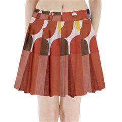 Sophie Taeuber Arp, Composition À Motifs D arceaux Ou Composition Horizontale Verticale Pleated Mini Skirt by Sobalvarro