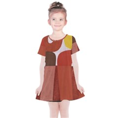 Sophie Taeuber Arp, Composition À Motifs D arceaux Ou Composition Horizontale Verticale Kids  Simple Cotton Dress by Sobalvarro