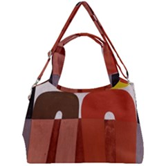 Sophie Taeuber Arp, Composition À Motifs D arceaux Ou Composition Horizontale Verticale Double Compartment Shoulder Bag by Sobalvarro