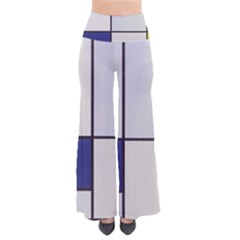 Tableau I, By Piet Mondriaan So Vintage Palazzo Pants by Sobalvarro