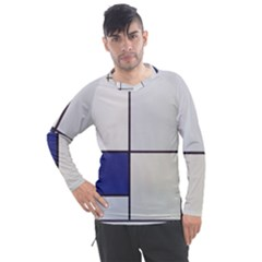 Tableau I, By Piet Mondriaan Men s Pique Long Sleeve Tee