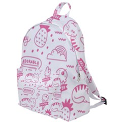 Cute Girly Seamless Pattern The Plain Backpack
