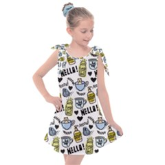 Everyday Things Pattern Kids  Tie Up Tunic Dress by Vaneshart