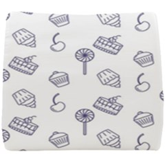 Cup Cake Cake Pattern Delicious Seat Cushion