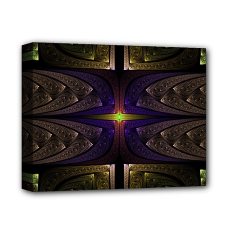 Fractal Fantasy Design Texture Deluxe Canvas 14  X 11  (stretched) by Wegoenart