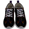 Fractal Abstract Background Pattern Mens Athletic Shoes View1