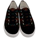 Fractal Fantasy Design Texture Men s Low Top Canvas Sneakers View1