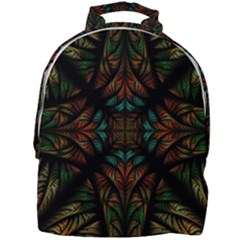 Fractal Fantasy Design Texture Mini Full Print Backpack
