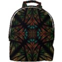Fractal Fantasy Design Texture Mini Full Print Backpack View1