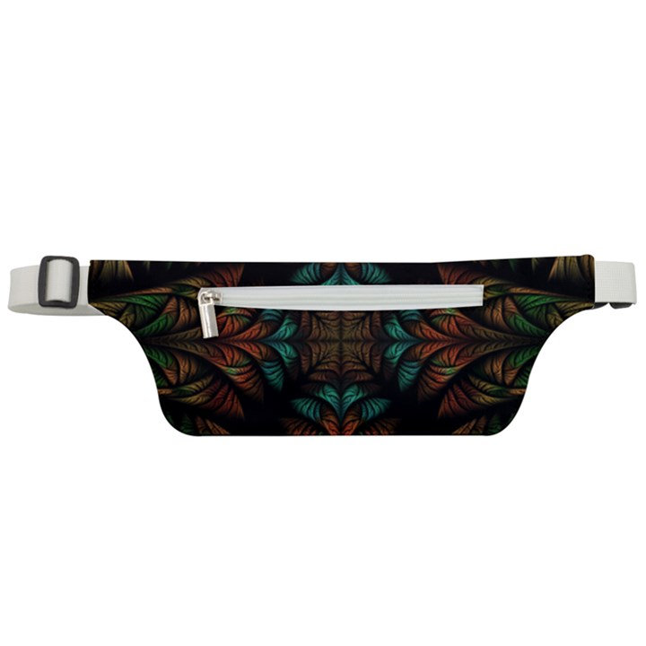 Fractal Fantasy Design Texture Active Waist Bag