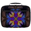 Fractal Flower Fantasy Floral Full Print Lunch Bag View1