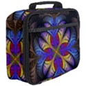 Fractal Flower Fantasy Floral Full Print Lunch Bag View3