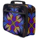 Fractal Flower Fantasy Floral Full Print Lunch Bag View4