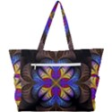 Fractal Flower Fantasy Floral Simple Shoulder Bag View3