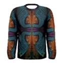 Art Abstract Fractal Pattern Men s Long Sleeve Tee View1