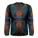 Art Abstract Fractal Pattern Men s Long Sleeve Tee View2