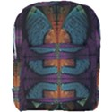 Art Abstract Fractal Pattern Full Print Backpack View1