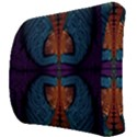 Art Abstract Fractal Pattern Back Support Cushion View3