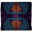 Art Abstract Fractal Pattern Back Support Cushion View4